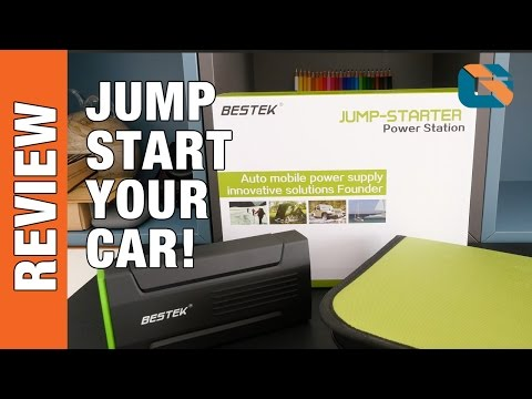 Bestek Jump-Starter Power Station Review