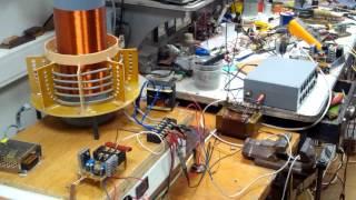 Трансформатор Тесла или, как выбрать контурный конденсатор