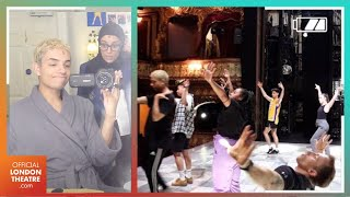 Everybody's Talking About Jamie vlog: Rehearsals, Backstage Antics & Dressing Room Tour | Ep: 2