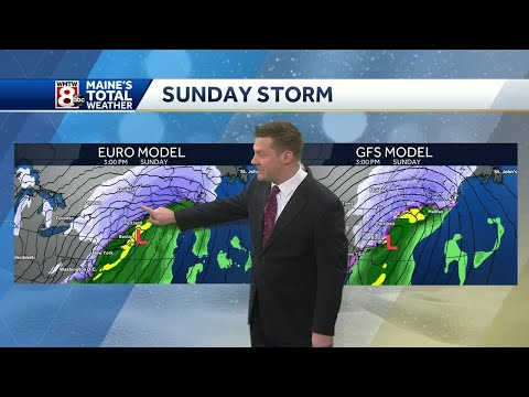 Snow Friday and a winter storm on Sunday
