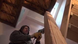 фальш-балка декоративная. деревянная балка своими руками