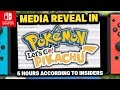Pokemon Switch NEWS! Reveal in 5 HOURS AND HYPE FOR 2019! Pokemon Lets Go pikachu & Lets Go  Eevee!