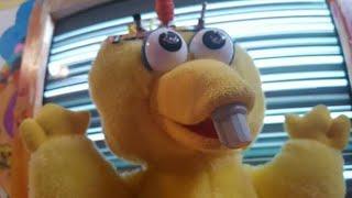 Circuit-Bent Talking Big Bird Plush Doll
