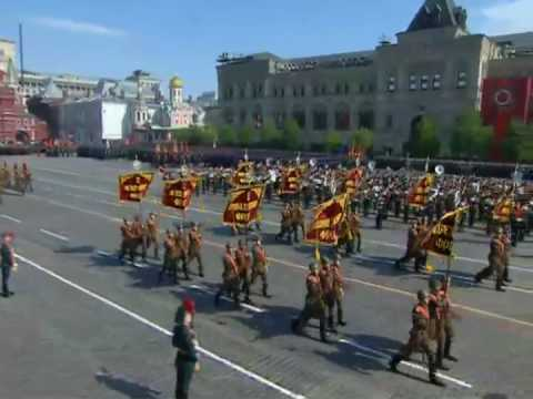 Парад, посвящённый 65-летию Победы
