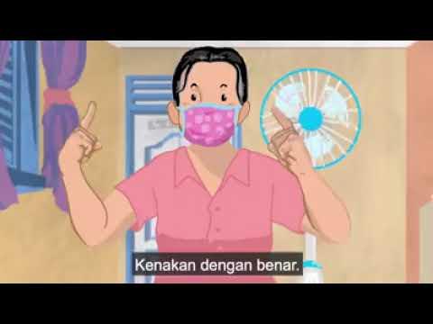 Gunakan Masker Untuk Mencegah COVID-19 #KEMENTRIANKESEHATANRI