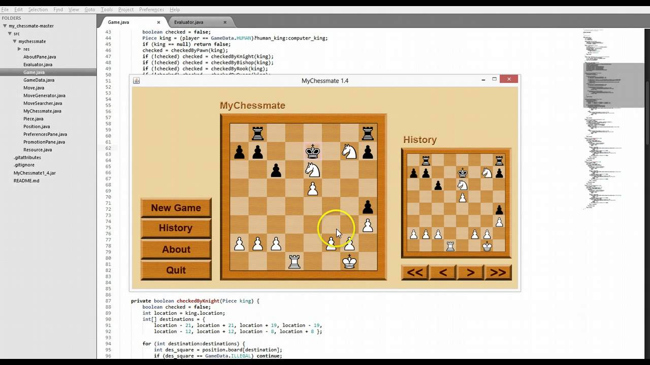 Simple chess game written in java youtube Where can i buy a chess game