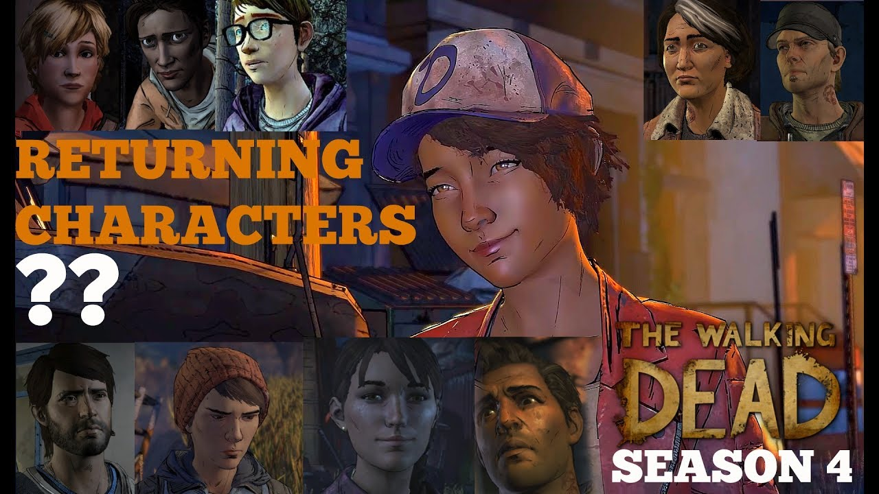 The Walking Dead: Season 4 Discussion - Returning Characters (TWD ...