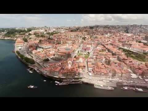 Dronie Porto Portugal (Selfie + Drone = Dronie)