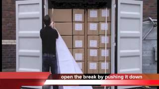 Container Awning - How to apply in the container