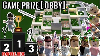 WHO IS THE WINNER HUH? | | GAME PRIZE | | ROBLOX INDONESIA