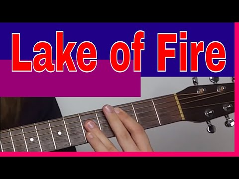 Nirvana Lake Of Fire Acoustic Lesson - Acoustic Barre Chord Guitar Lesson