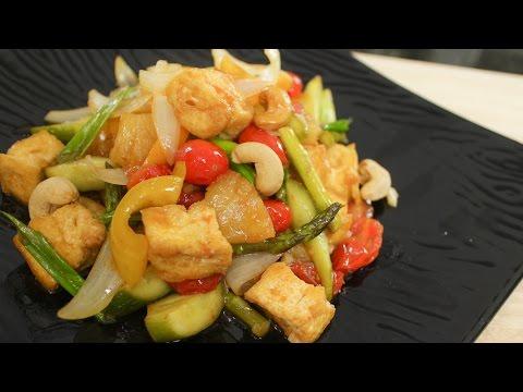 Sweet & Sour Tofu Recipe ผัดเปรี้ยวหวาน – Hot Thai Kitchen!