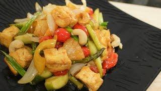 Sweet &amp Sour Tofu Recipe ผดเปรยวหวาน - Hot Thai Kitchen!