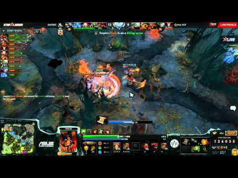 Empire vs NiP - Game 2 (Starladder XI LAN - WB Final) - Zyori & Godz