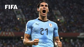 A veteran of three fifa world cups with uruguay. enjoy all edinson cavani's goals for la celeste at the global finals. #edinsoncavani #uruguay #goalssubsc...