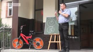 Rower z kołami Hoene Wrońskiego - zasada działania