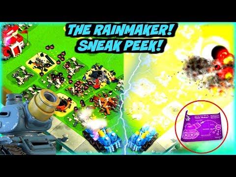 RAINMAKER! :: NEW BOOM BEACH PROTO-TROOP! :: SNEAK PEEK!