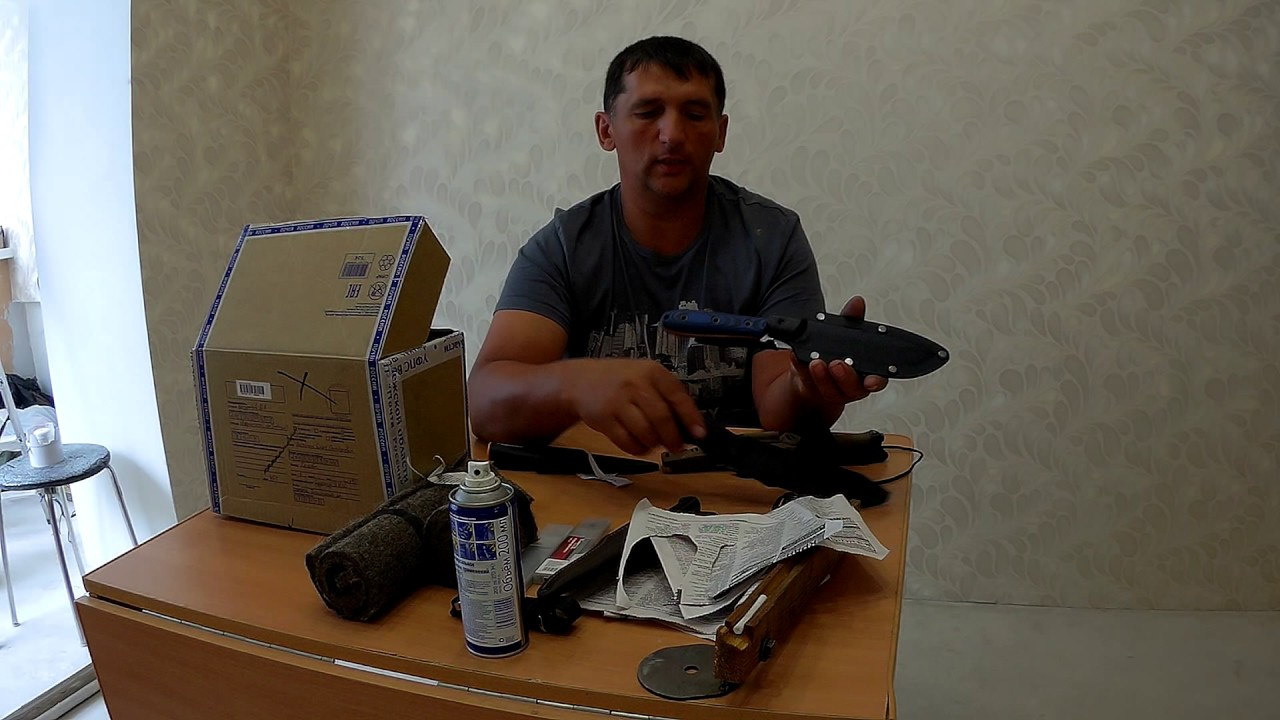 Энергетика ножа. Виктор Чулкин - YouTube