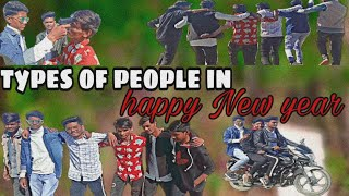 Types of people in happy New year pk and y m comedy s