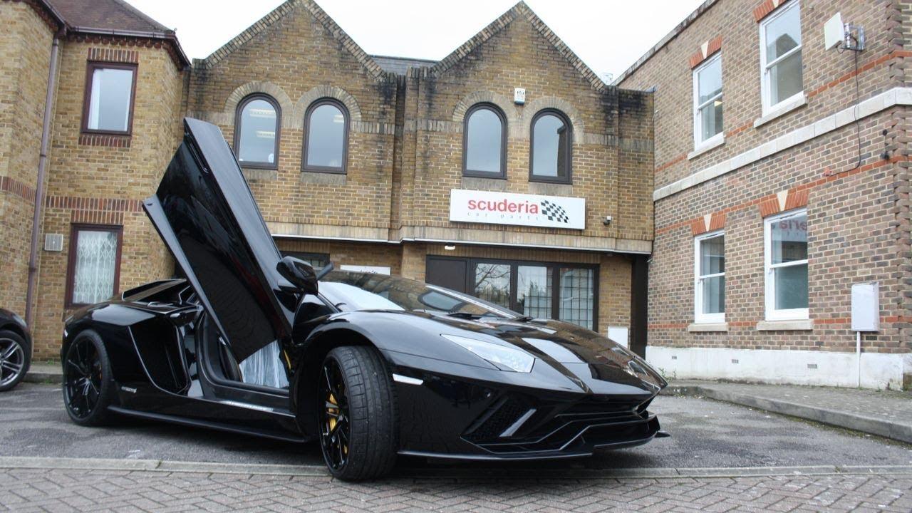 Lamborghini Aventador S Capristo Valved Sports Exhaust Scuderia Car Parts