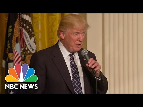 President Donald Trump: Health Care Deal Will Come 'Very Quickly' | NBC News