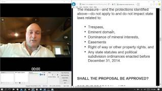 Oklahoma's State Question 777 Right to Farm | Just What is this about | Josh Barnett
