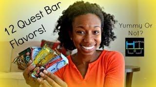 12 Quest Bar Flavors-UNBELIEVABLE Real Taste!