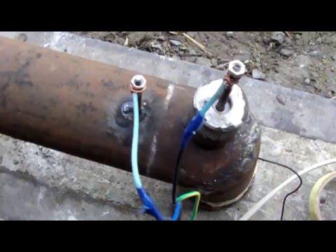 Самодельный неубиваемый электро котёл, для ветряка, минимум затрат. electrocopper