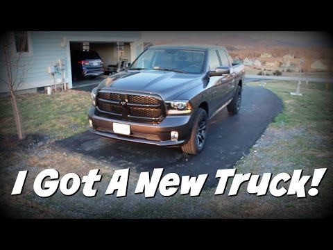 New 2017 Dodge Ram 1500 Sport Night Edition 4x4 Crew Cab