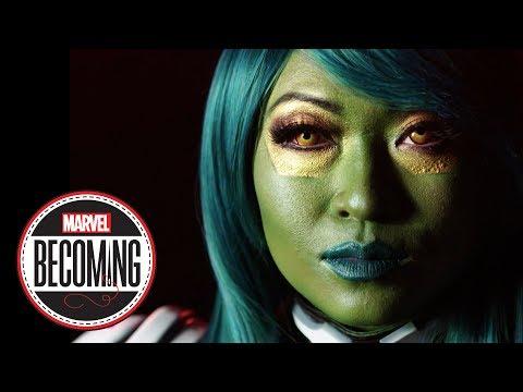 Cosplayer Yaya Han Becomes Gamora – Marvel Becoming