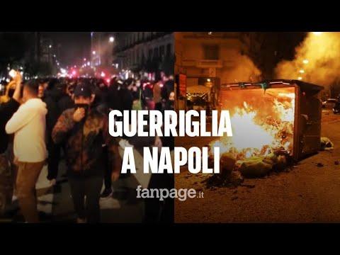 Scontri a Napoli, le immagini della protesta fanno il giro del mondo: