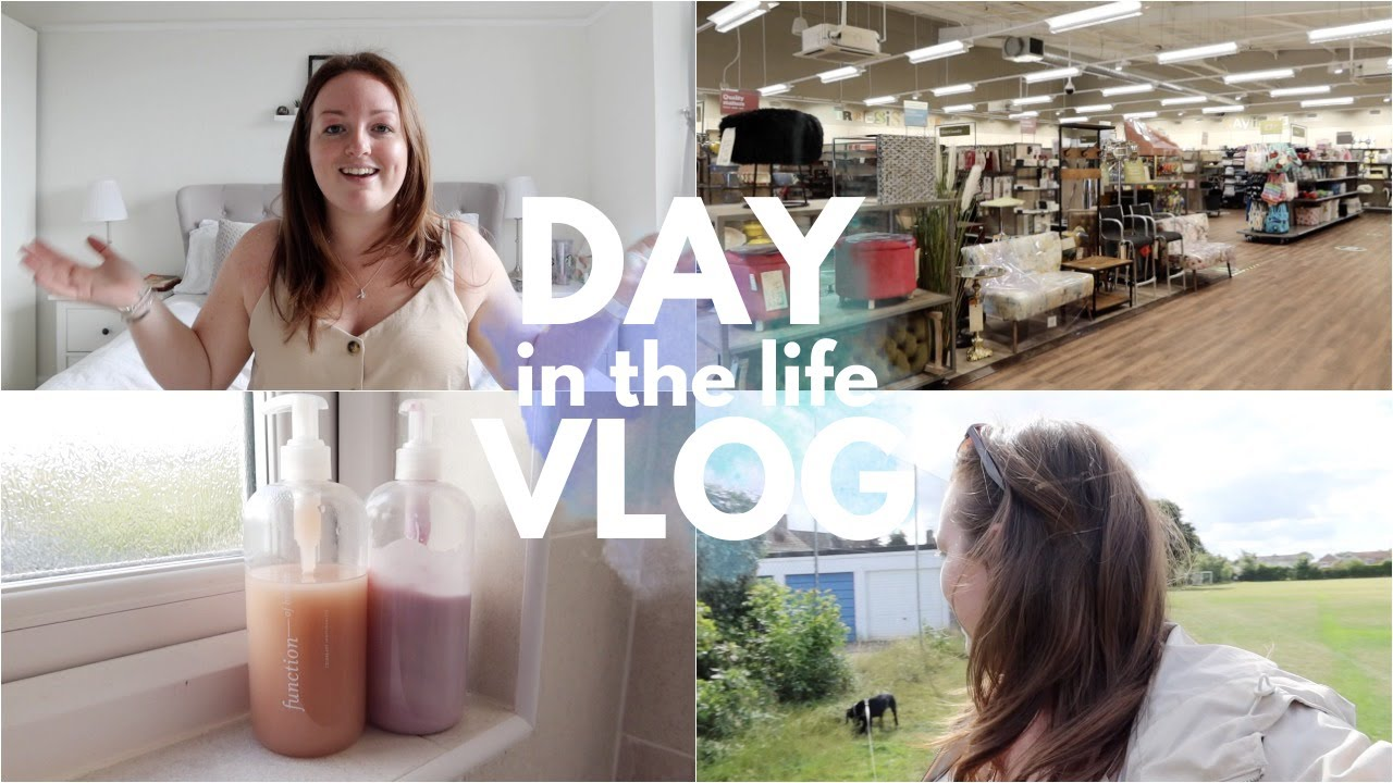 Haircut (finally!) & Homesense Trip 💇🏻‍♀️🏘 Haircare I'm LOVING & Home Haul • Day In The Life Vlog AD