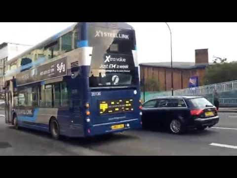 First Bus Rotherham 35136 At Sheffield X1 Steellink To Maltby Via Rotherham & Meadowhall