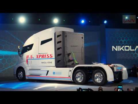 2017 Nikola One Hydrogen Electric Semi Truck