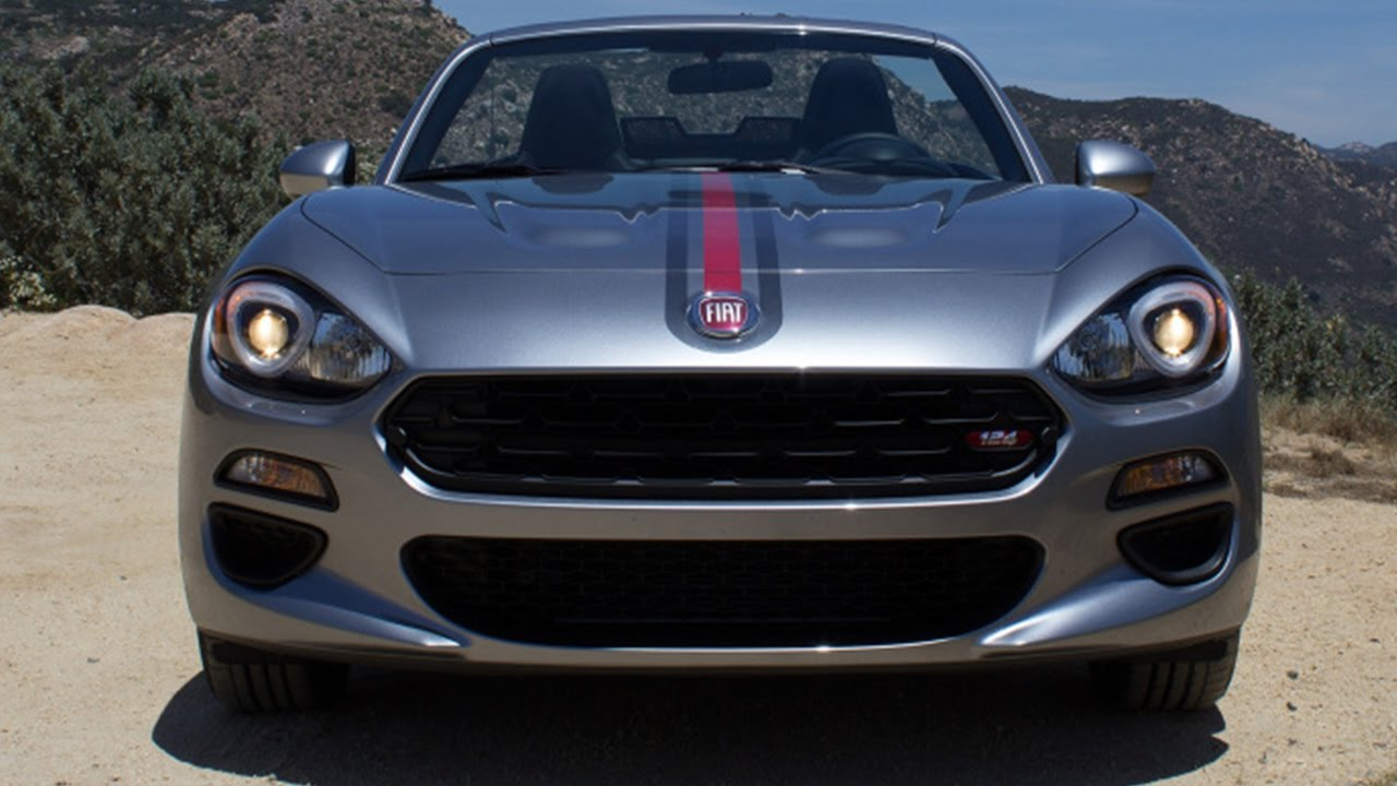2017 Fiat 124 Spider Ranks 4 Out Of 9 Sports Cars