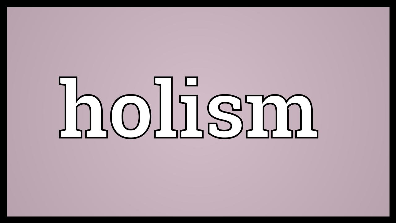 holism meaning