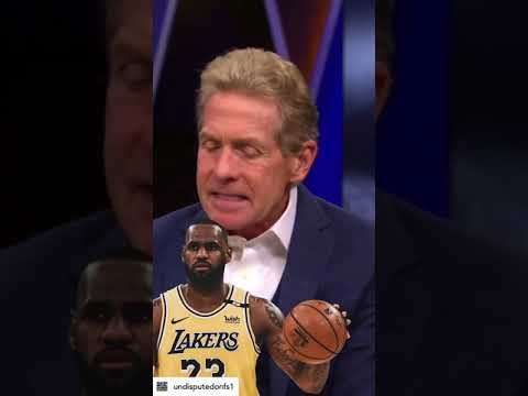 Skip Bayless argues LeBron is the most protected athlete   NBA   UNDISPUTED #shorts