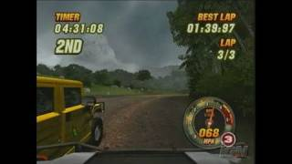 Hummer: Badlands Xbox Gameplay - Authentic Racing