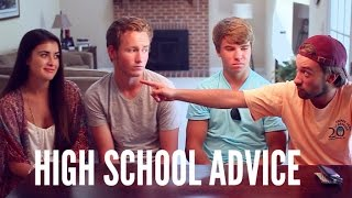 High School Advice from Guys | hellokaty