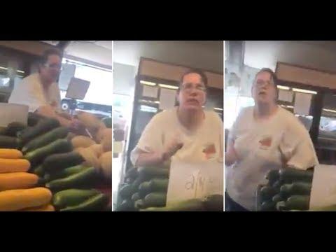 Trenton Farmers Market stand employee goes ballistic on customer