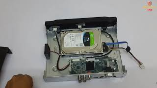 How to Install Hard Disk in DVR | Cp Plus | CCTV Setup