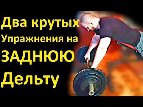 Два крутых Упражнения на ЗАДНЮЮ Дельту. Моя тренировка