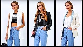 Джинсы с высокой талией. Как и с чем носить джинсы с завышенной талией. Мода и стиль.