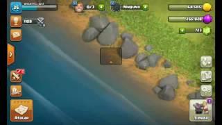 Atacando y perdiendo en Clash of clans