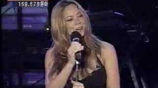 "Mariah Carey live ""I Still Believe"" and ""Hero"""