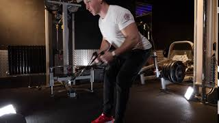 Low Cable Bent Over Row