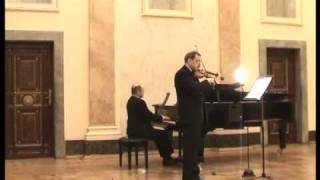 Franck - Sonata for violin and piano 3. Recitativo Fantasia. Ben moderato