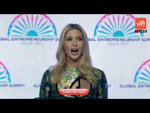 Ivanka Trump Speech at Global Entrepreneurship Summit in Hyderabad | #GSE 2017 | YOYO TV Channel