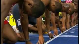 2009年世界陸上100m ウサイン・ボルトまた世界新9秒58!!