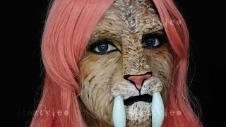 DIY*Prostetico de Tigre Dientes de Sable